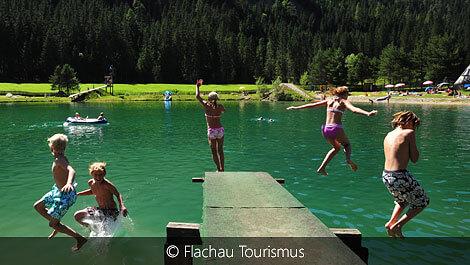 Schwimmen in Flachauwinkl