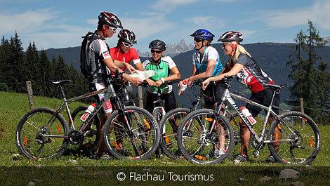 Mountainbiken am Grießenkar