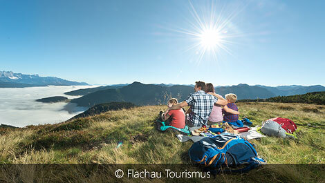 Familienwandern in Flachau